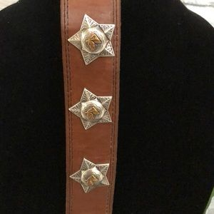 Jewelry - 😍Horse head Concho leather cuff bracelet😍
